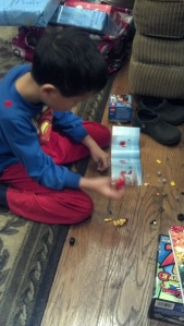 andrew and legos