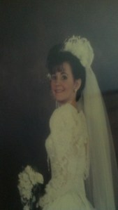pam wedding pic