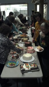Cake auction