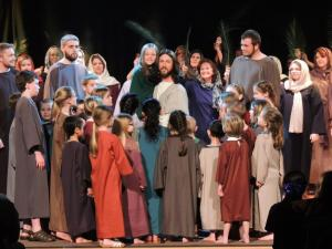 Passion play-children