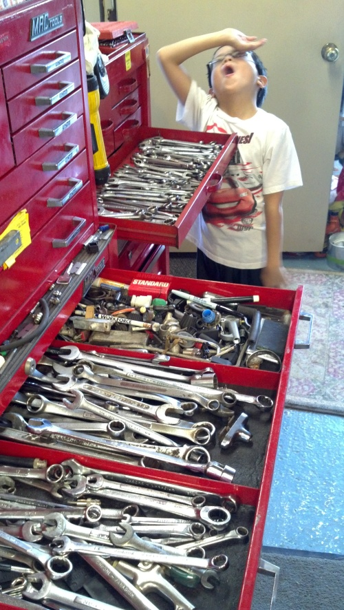 andrew and wrenches