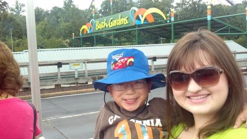 Busch Gardens and Katy