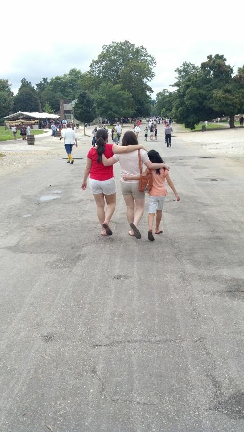 girls at williamsburg