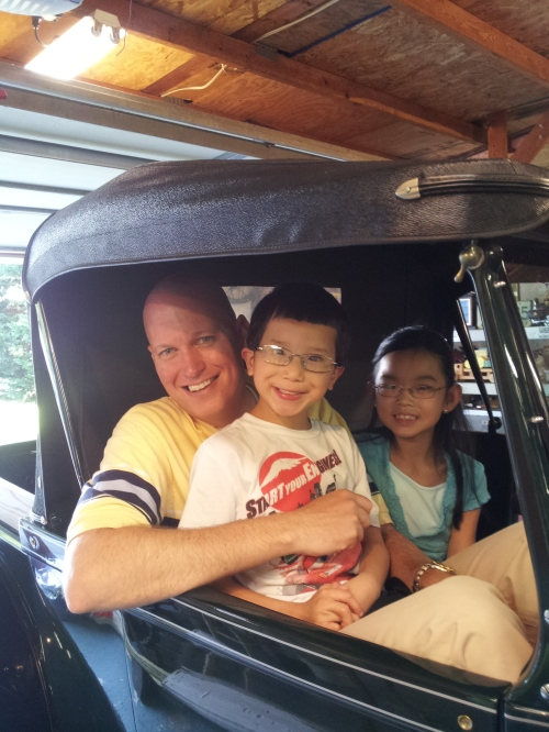 kids in 28 Ford