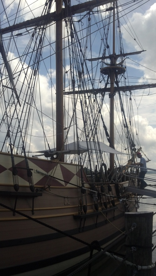 ship at Jamestown