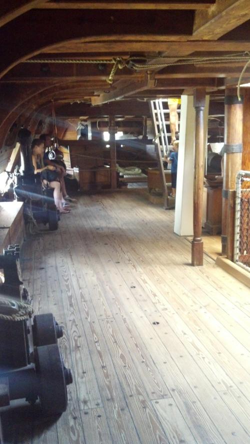 Ship second deck