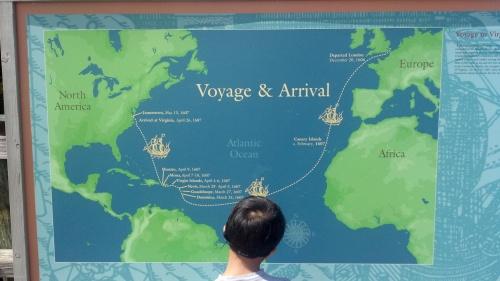 Voyage to Jameston
