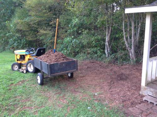 mulch gone