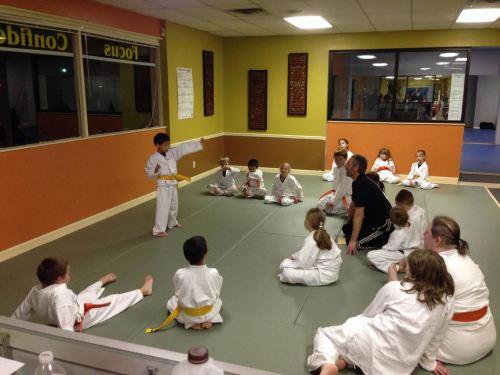 Andrew karate