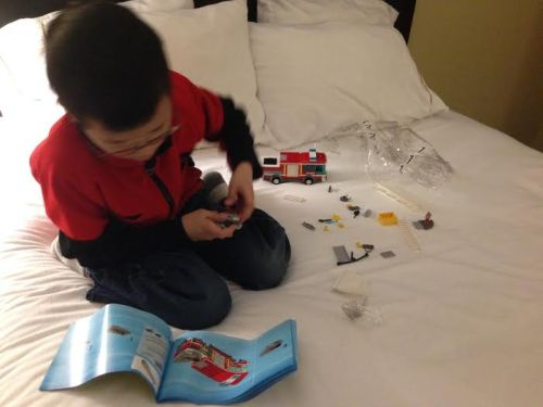 Lego-firetruck