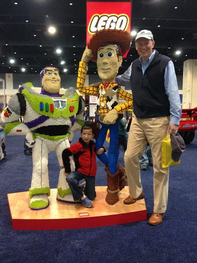 Lego-Woody and Buzz