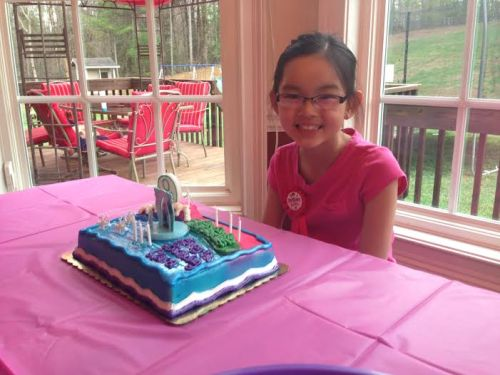 Clara's 9th birthday party