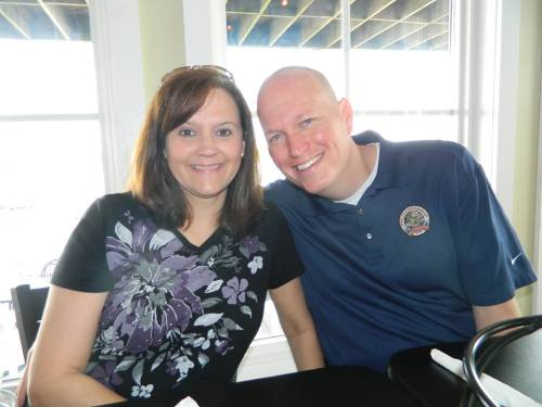 Kevin and Pam at Atlantic Beach
