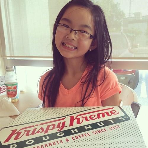Clara and Krispy Kreme