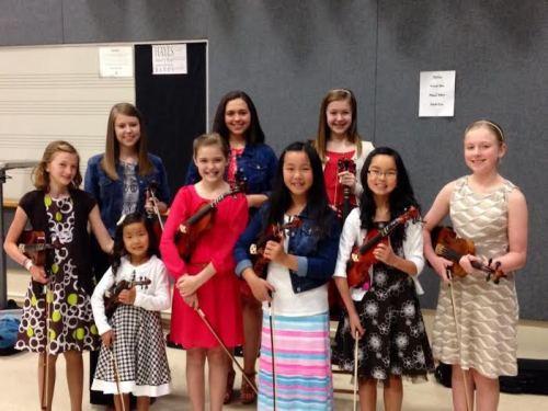 Violin ladies