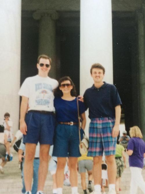 Steve, Pam, Me