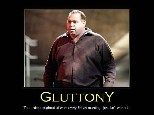 Gluttony poster