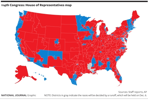 red and blue map