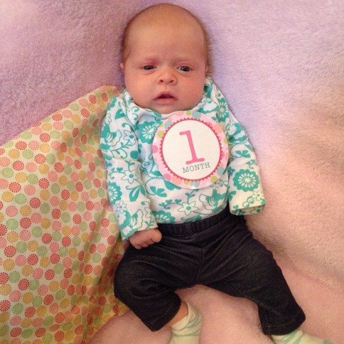Charlotte one month