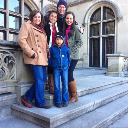 Fam at Biltmore 2014